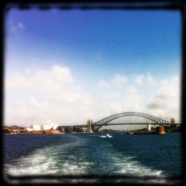 Sydney Harbor from Manly Ferry